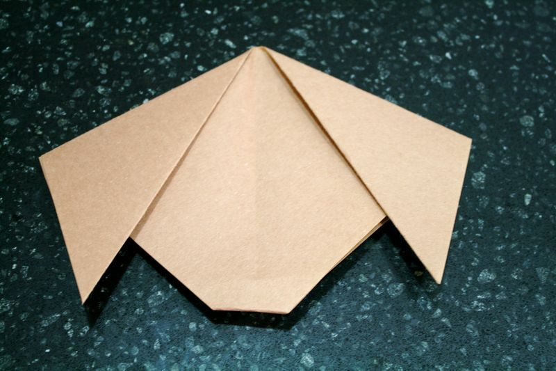 Easy Dog Origami for Kids