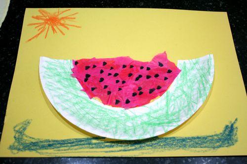 Watermelon Art Collage