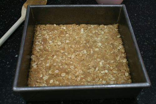 Whole Wheat Jamberry Crumble Bars