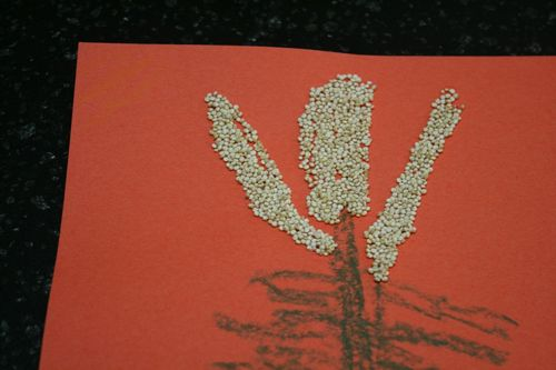 Quinoa Art Project