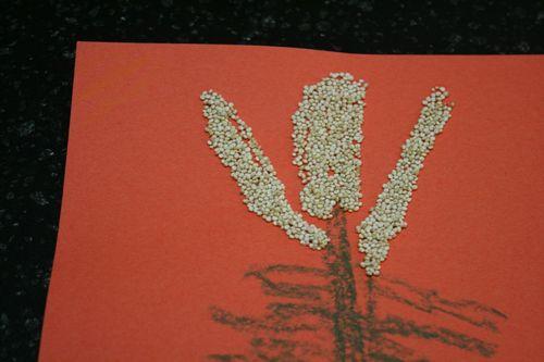 Quinoa Art Project