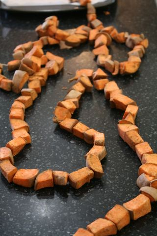 Sweet Potato Garland
