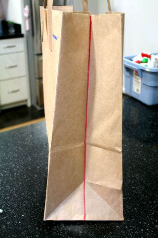 Brown Paper Bag Cape