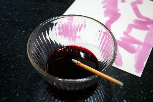 Beet Juice Paint
