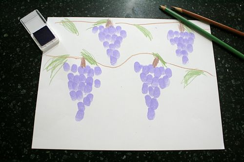 Grape Fingerprint Pictures
