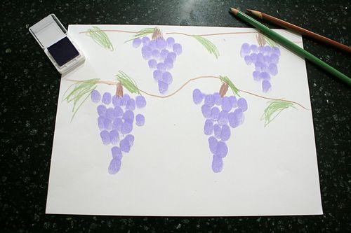 Grape Fingerprint Pictures