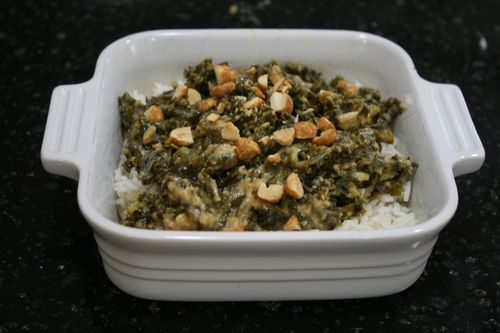 Peanut-Pineapple Kale Stew for Kids