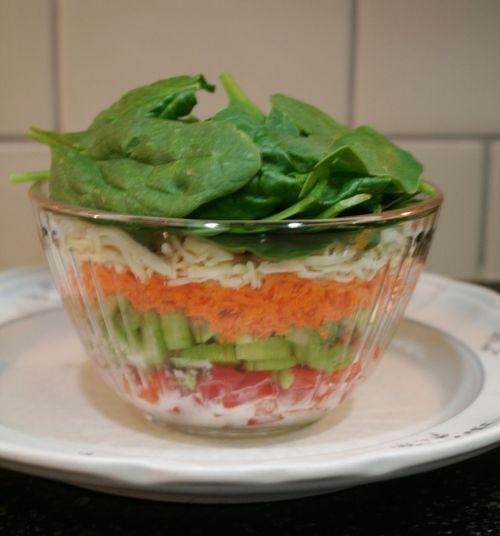 Upside Down Salad