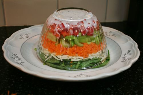 Upside Down Salad