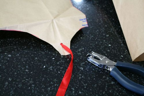 Brown Paper Bag Cape