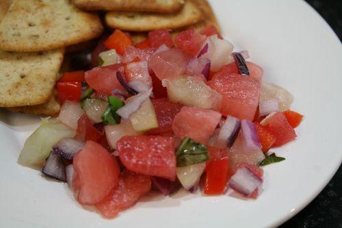 Xigua Watermelon Salsa