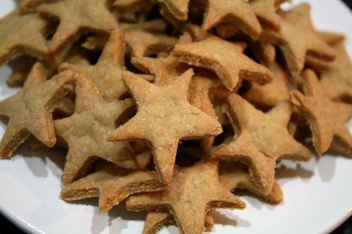 Cheesy Snack Crackers