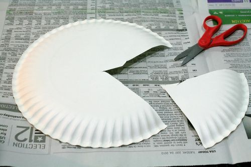 Painted and Stamped Apple Pie Craft