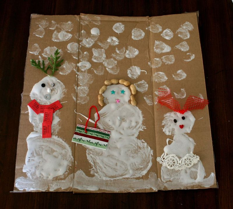 Decorated Snowballs Family