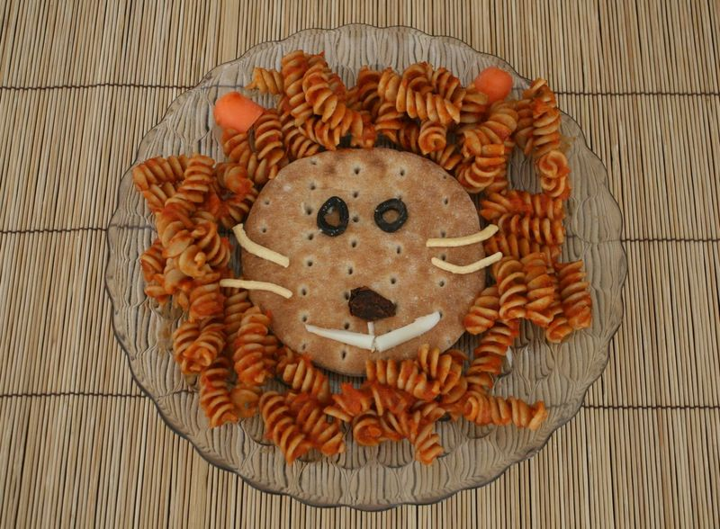 Library Lion Pasta