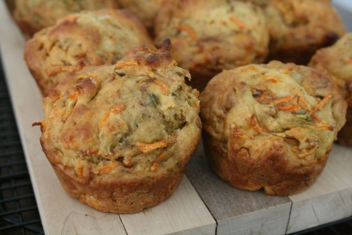 Carrot and Sunflower Seed Muffins1