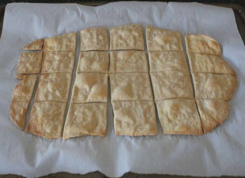 Homemade Wheat Crackers