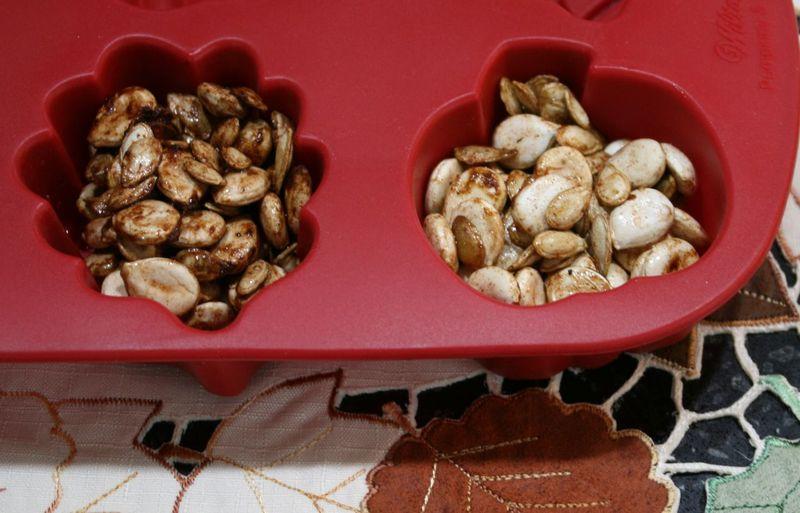 Spiced Squash Seeds