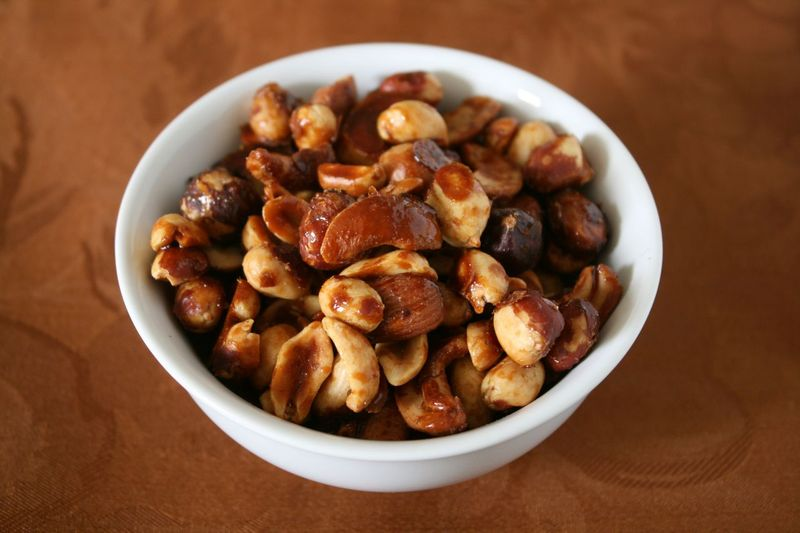 Warm Honey Nuts