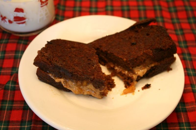 Grilled Gingerbread Sandwiches