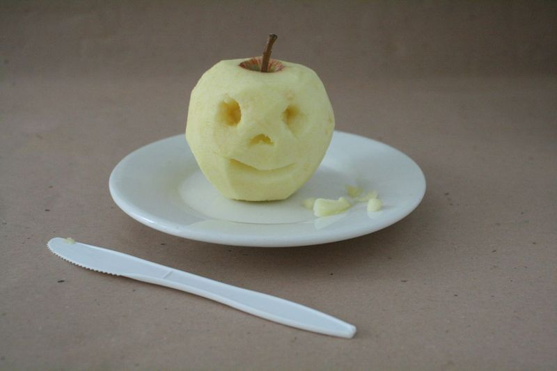 Dried Apple Puppet