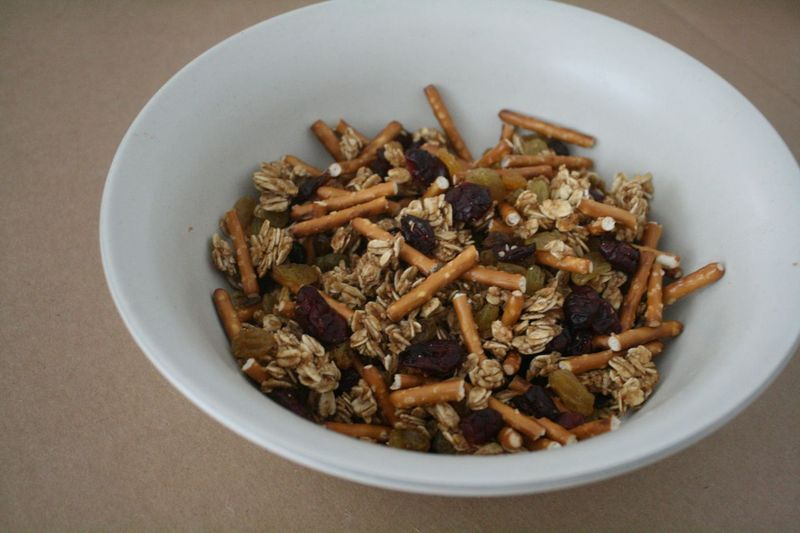 Leaves and Twigs Snack Mix from Off the Shelf
