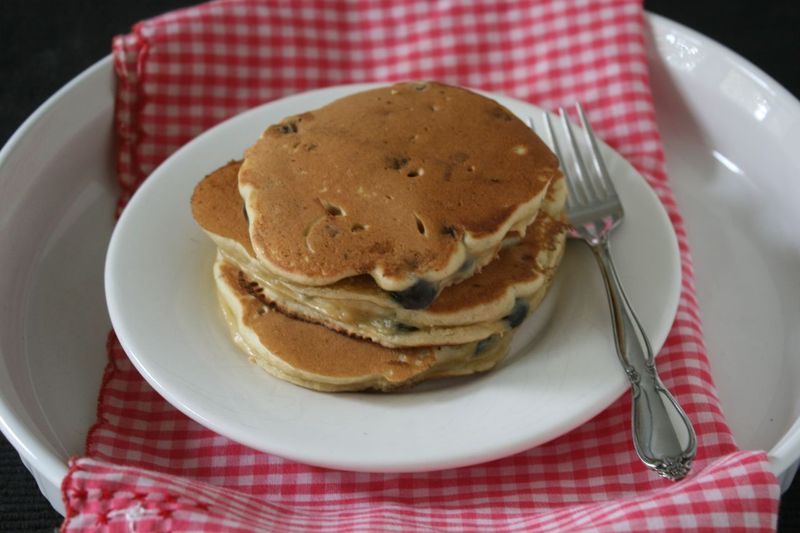 Bewitching Blueberry Pancakes