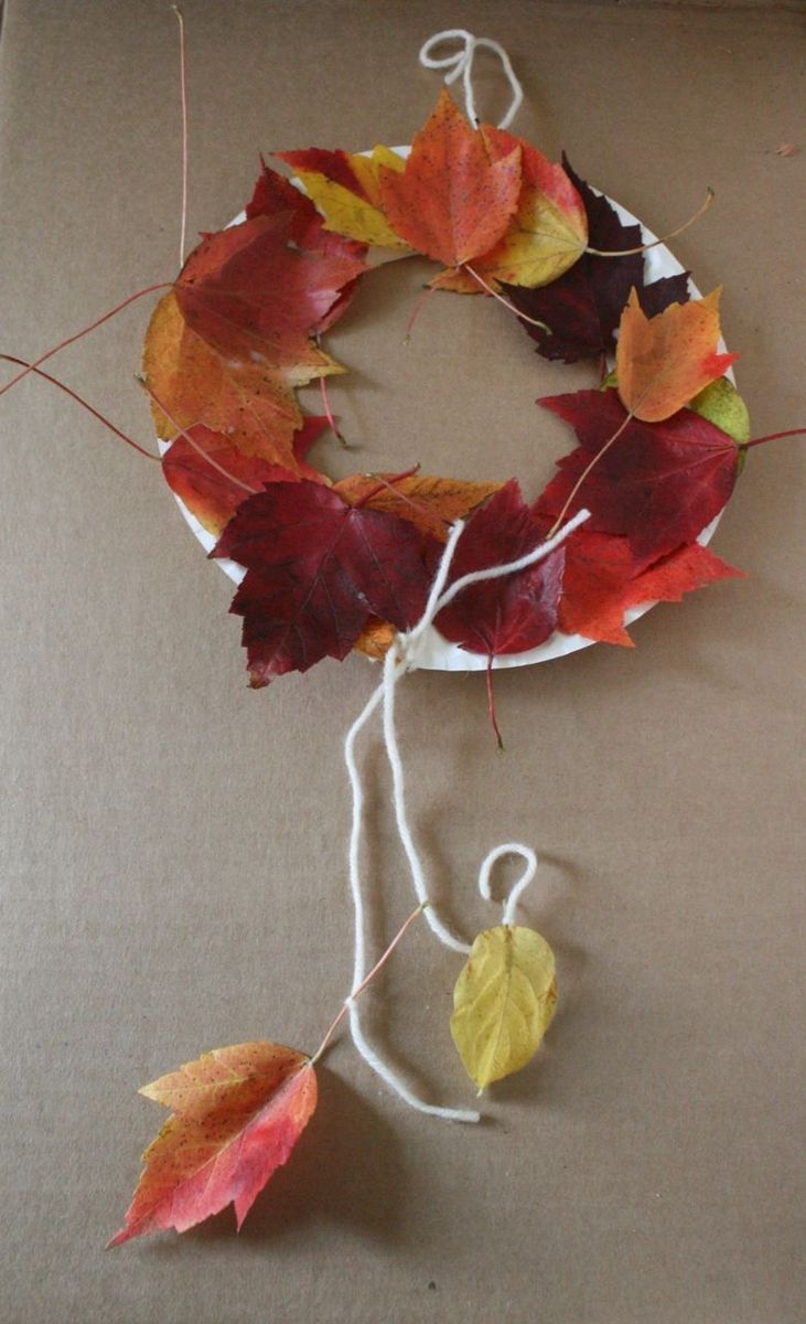 The Little Yellow Leaf Wreath - The Little Yellow Leaf - Off the Shelf