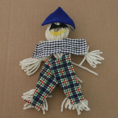 Yarn Scarecrow - The Little Scarecrow - Off the Shelf