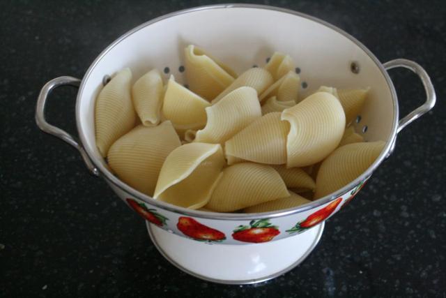 Garden Shell Pasta Bake