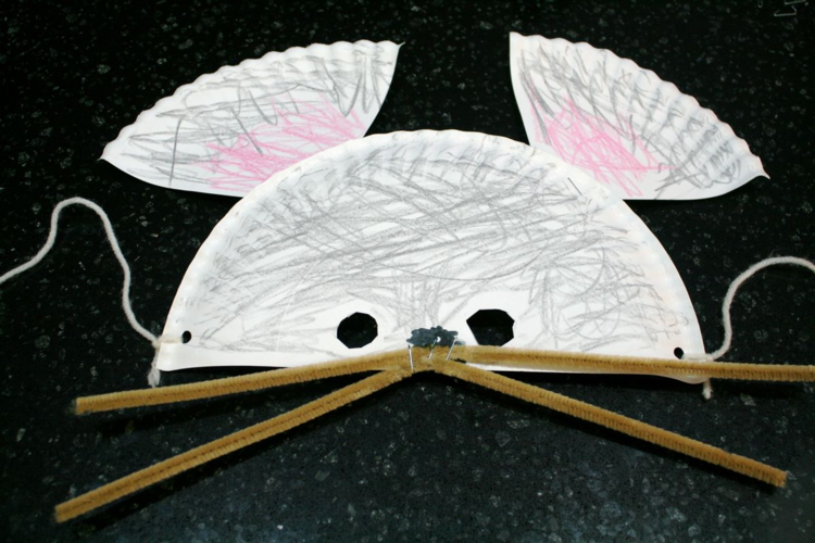 Paper Plate Little Mouse Mask - Off the Shelf