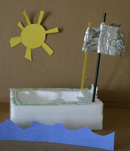 Styrofoam Boats - Big Bear's Big Boat - Off the Shelf