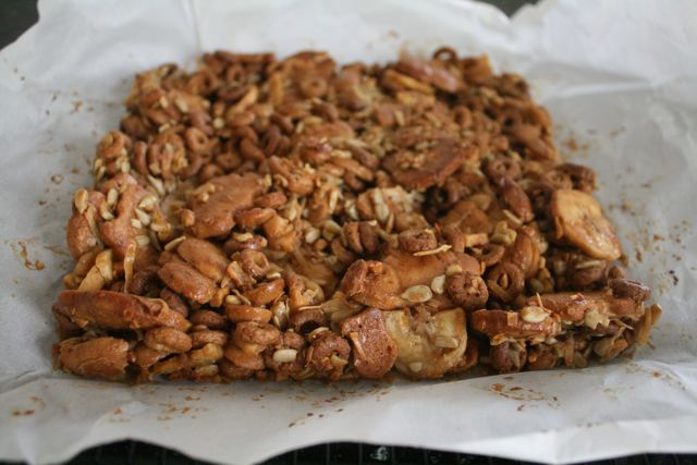 """Jungle Crumble Bars - """"Stand Back,"""" Said the Elephant, """"I'm Going to Sneeze!"""" - Off the Shelf"""