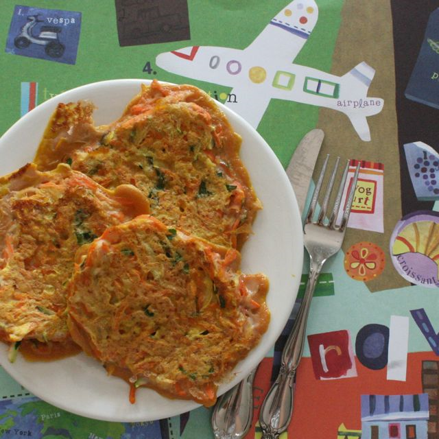 Zephyr's Spectacular Triple-Veggie Pancakes - Zephyr Takes Flight - Off the Shelf