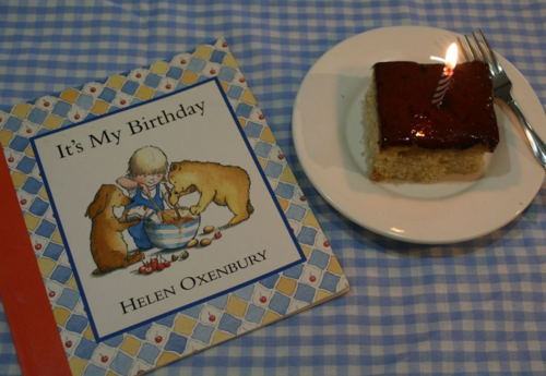 Mix in the Pan Vanilla Cake - It's My Birthday - Helen Oxenbury - Off the Shelf