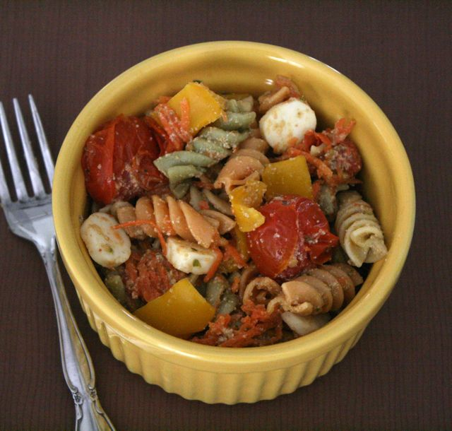 Shapes and Colors Pasta Salad - Art by Patrick McDonnell - Off the Shelf