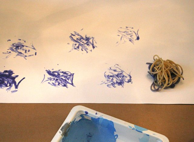 Spaghetti Painting - Lines that Wiggle - Off the Shelf