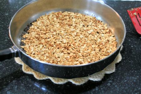 5 Minute Skillet Granola - The Apple Pie Tree - Off the Shelf