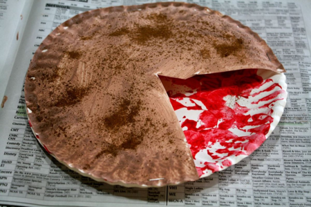 Painted and Stamped Apple Pie Craft - The Apple Pie Tree - Off the Shelf