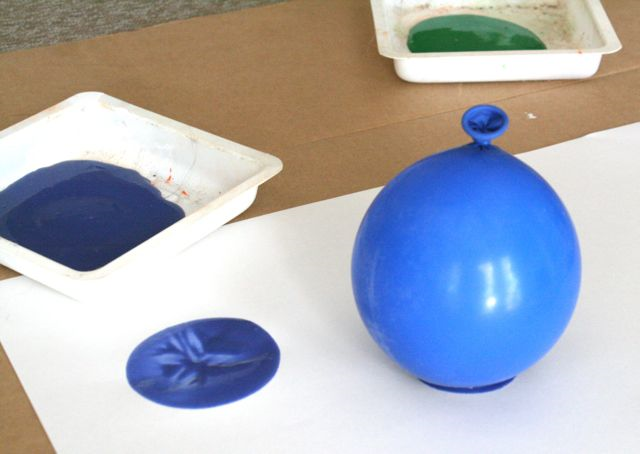 Balloon Painting - Please Bring Balloons - Off the Shelf
