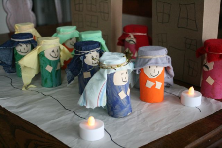 Las Posadas Playset Craft - The Night of Las Posadas - Tomie dePaola - Off the Shelf