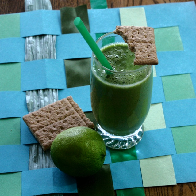 Lime Smoothie Recipe - Green by Laura Vaccaro Seeger - Off the Shelf