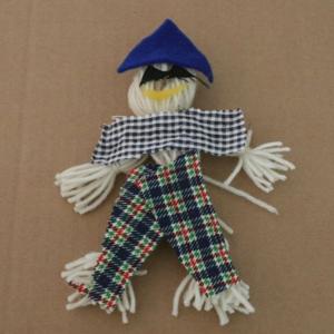 Yarn Scarecrow