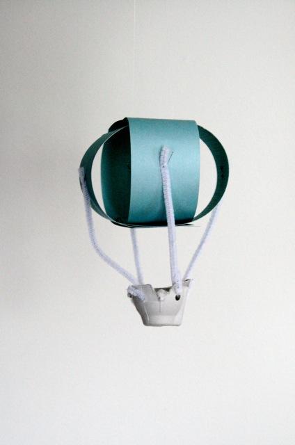 Hot AIr Balloon Craft - Sebastian and the Balloon - Philip C. Stead - Off the Shelf
