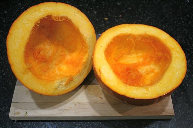 Cooking a Pie Pumpkin